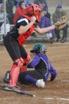 T.F. North's China Cordova slides into home
