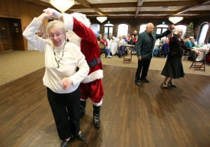 Seniors share Christmas joy