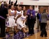 Merrillville's girls basketball players