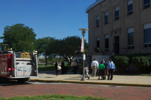 Electrical fire shuts Lake County Courthouse in Gary