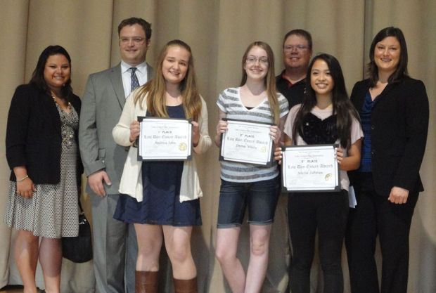 Crown Point eighth-graders sweep Law Day essay contest awards