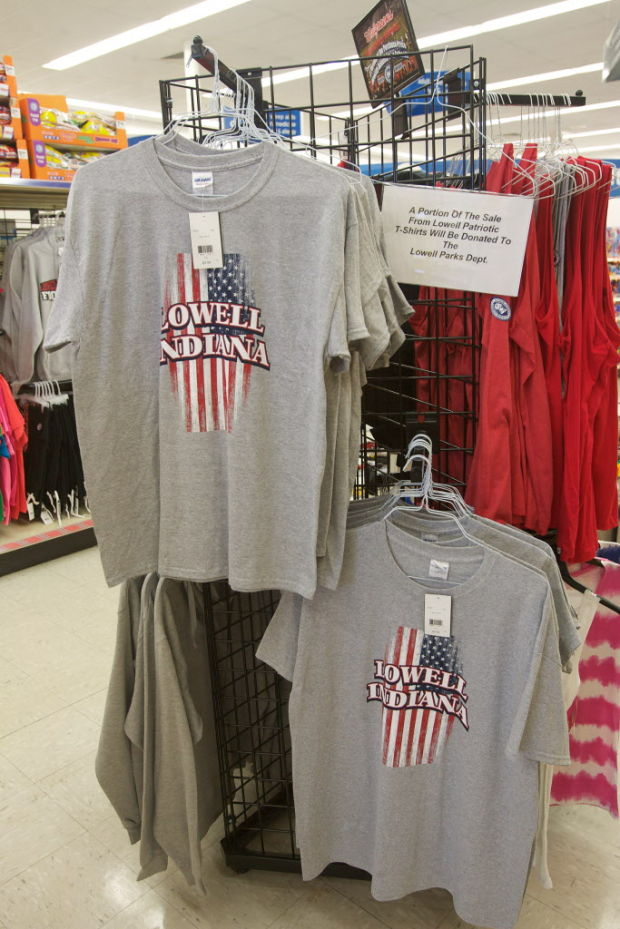 Boost the Parks: Sale of patriotic t-shirts benefits Lowell Parks Dept.