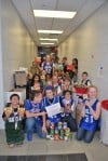 Lansing students collect donations for food pantry