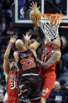 Chris Andersen,  Taj Gibson, Shane Battier