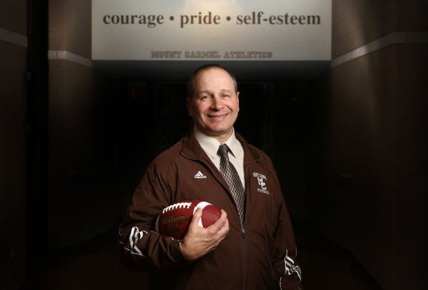 Mt. Carmel's Frank Lenti is The Times Coach of the Year