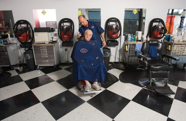 Man Cave Barber Burnaby : C p barbershop caters to men