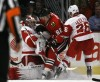Kopecky helps injury-depleted Hawks end skid