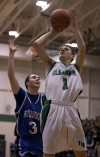 Illiana Christian's Joel Ooms shoots past