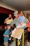 Hobart soldier surprises kids with 'special present'
