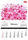 Floral calendar 2014, february