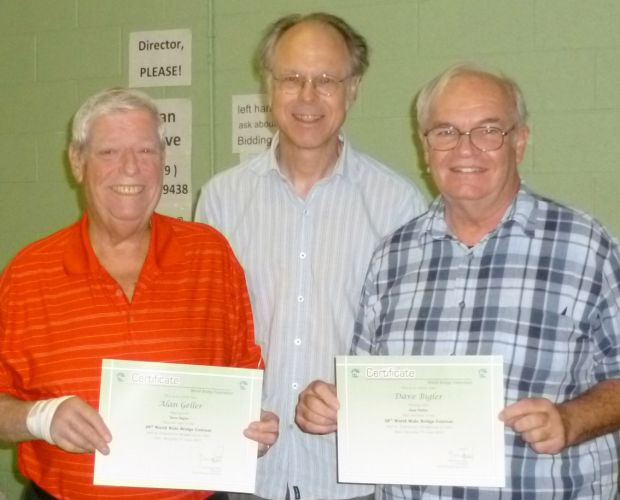 Local pair earns recognition in World Wide Bridge Contest
