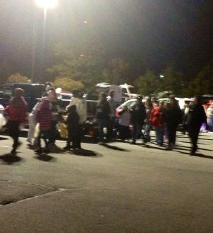 Hammond hosts trunk-or-treat
