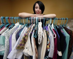 Refashionista makes clothes from castoffs
