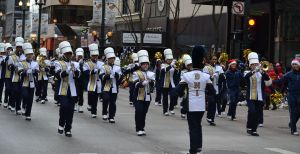 Local bands perform in Thanksgiving Day parades