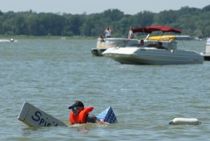 Water plays dual roles in Cedar Lake