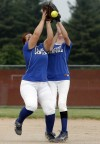 SBH_CHE, Crown Point Bulldogs play the Lake Central Indians, softball regionals