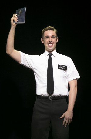 A religious experience: Lead actor Nic Rouleau happy in 'Mormon' Chicago stage role converting audiences into fans
