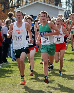 Valpo, Kostelnik capture cross country semistate titles