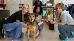 A canine treasure: Local pet inspires art donation to local shelter