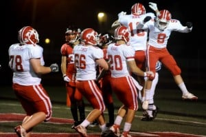 Crown Point's Hopman throws 3 TDs passes in rout over Portage