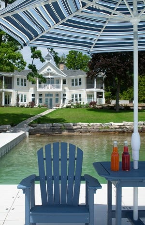 House & Grounds: Gull Lake home designed for lakeside living and entertaining