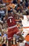 Indiana wilts in 2nd half, loses to Syracuse