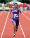 Defending regional champ in 100 and 200 sets sights on huge senior season