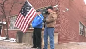 VIDEO: Paying respects to fallen soldier