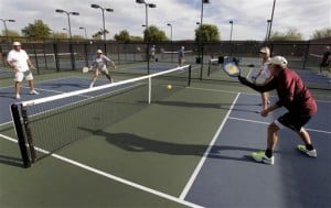 Tennis-like game picking up steam with seniors