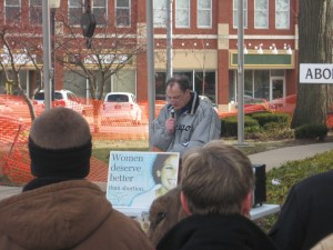 Group takes anti-abortion message to Valparaiso