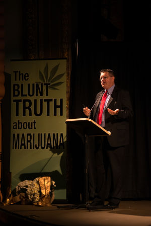 Speakers warn against marijuana use