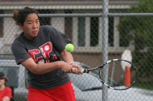 C.P.'s Wen leads Bulldogs to girls tennis semistate