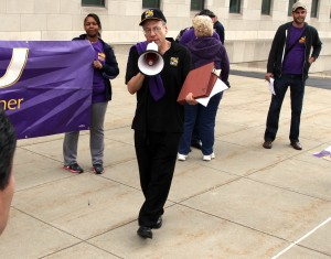 Protesters demand stop to sequestration, mental health funding cuts