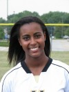 Marian Catholic volleyball player Amber Clay