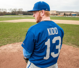 Kidd carrying on the family name in Boone Grove baseball
