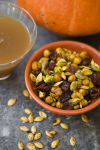 Don't toss those pumpkin seeds, snack on them