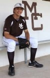 Mount Carmel pitcher John Kravetz