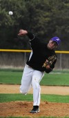 Zachary Turner pitches for T.F. North