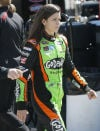 Danica Patrick surprise of Kansas with career-best run