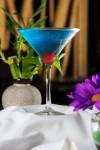 Pacific Blue Martini