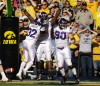 Northwestern upsets No. 8 Iowa 17-10