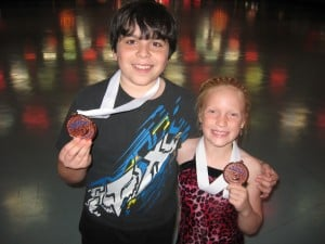 Local roller skaters medal at National Championships