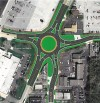 5-points roundabout construction starts Monday