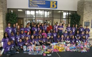 Student Council raises and spends $1,100+ on Toys for Tots