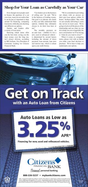 Shop for Your Loan as Carefully as Your Car