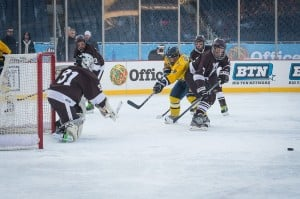 Mount Carmel hockey falls to Glenbrook South at Soldier Field
