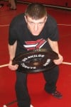 Danny Roach, Portage wrestling