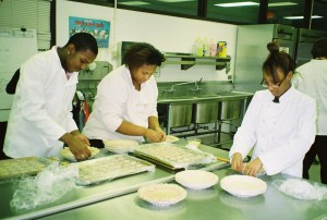 Bloom Trail culinary arts students bake holiday pies