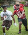 T.F. South's Ralph Canty,  during Richards 7-on-7 tournament