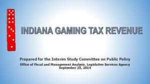 Tax cuts, land-based gaming top casino wish lists